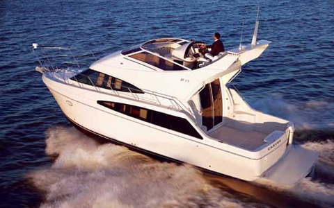 Carver Boat Repairs in and near New Baltimore Michigan
